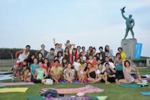 7月24日 sun BeachClean&YOGA